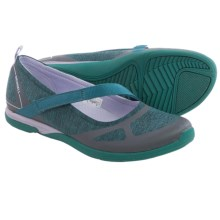 Merrell Ceylon Mary Jane Shoes (For Women) in Teal/Lilac - Closeouts