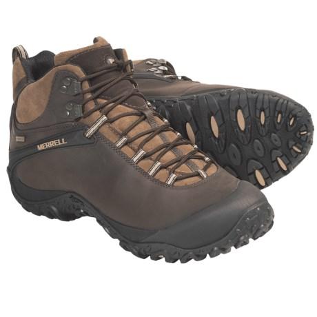 Merrell Chameleon 4 Mid Hiking Boots - Waterproof (For Men) in Espresso