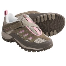 Merrell Chameleon 4 Ventilator Z-Rap Shoes (For Kids and Youth) in Elephant/Sea Pink - Closeouts