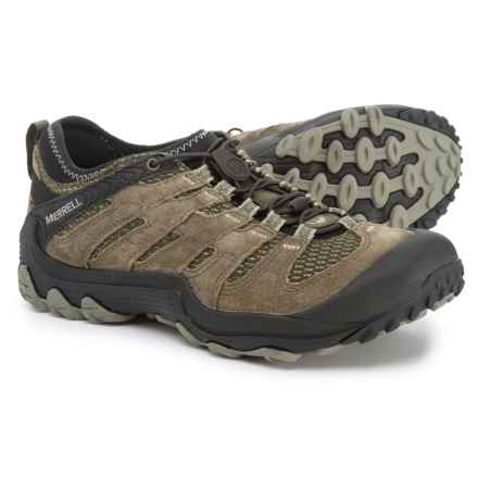 6351c90915c40 Merrell Chameleon 7 Limit Stretch Hiking Shoes - Leather (For Men) in Dusty  Olive
