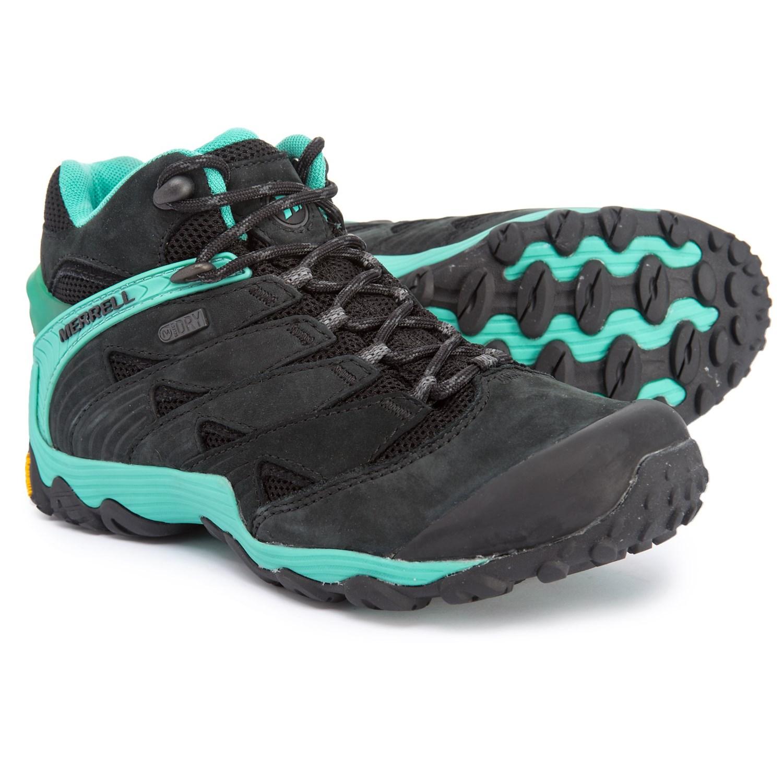 78b20f40c Merrell Chameleon 7 Mid Hiking Boots - Waterproof (For Women)