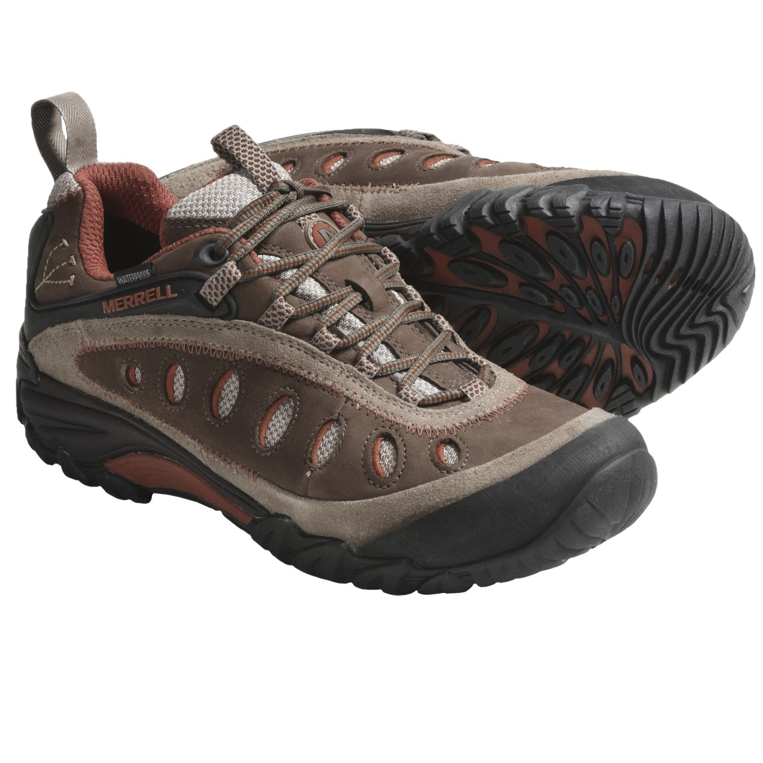 Green Merrell Waterpro Maipo Women's Walking Mens Shoes Light Trail Outdoors Walking Shoes Clearance Canada MER82
