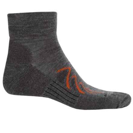 Merrell Chameleon Hiking Socks - Merino Wool, Ankle (For Men) in Charcoal - Closeouts
