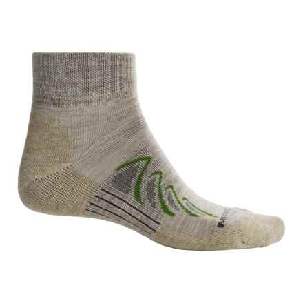 Merrell Chameleon Hiking Socks - Merino Wool, Ankle (For Men) in Stone - Closeouts