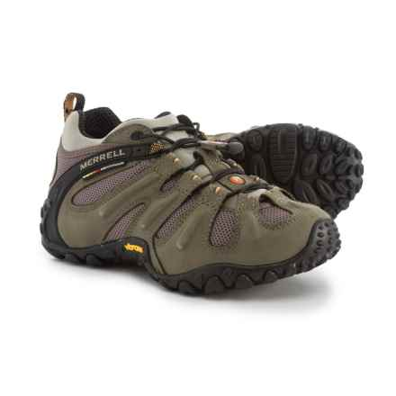 Merrell Chameleon II Stretch Hiking Shoes - Nubuck (For Men) in Kangaroo - Closeouts