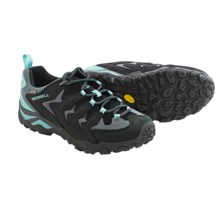 Merrell Chameleon Shift Ventilator Hiking Shoes - Waterproof (For Women) in Black/Adventurine - Closeouts