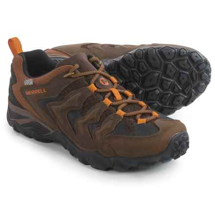 Merrell Chameleon Shift Ventilator Hiking Shoes - Waterproof, Leather (For Men) in Bitter Root - Closeouts
