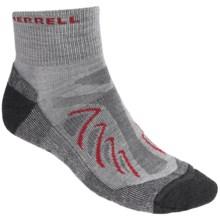 Merrell Chameleon Socks - Wool Blend, Quarter-Crew (For Men) in Drizzle - 2nds