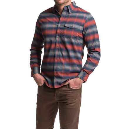 Merrell Chapman Flannel Shirt - Long Sleeve (For Men) in Bossa Nova - Closeouts