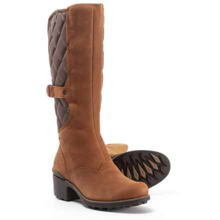 ce130da4860 Merrell Chateau Tall Pull Boots - Waterproof, Leather (For Women) in  Merrell Oak