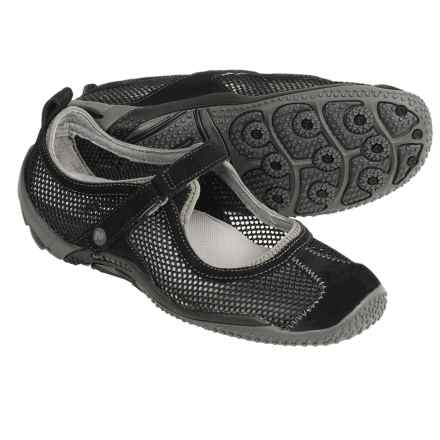 Merrell Circuit Mary Jane Shoes For Women In Black Closeouts