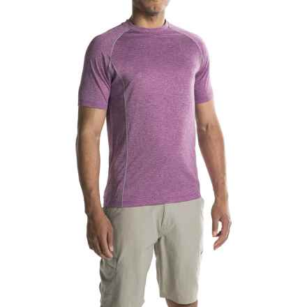 Merrell Connect T-Shirt - Short Sleeve (For Men) in Hyacinth V Htr - Closeouts