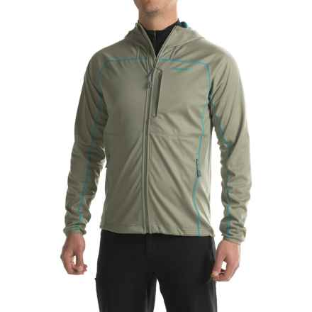 Merrell Conservation Soft Shell Jacket - Hooded (For Men) in Putty - Closeouts