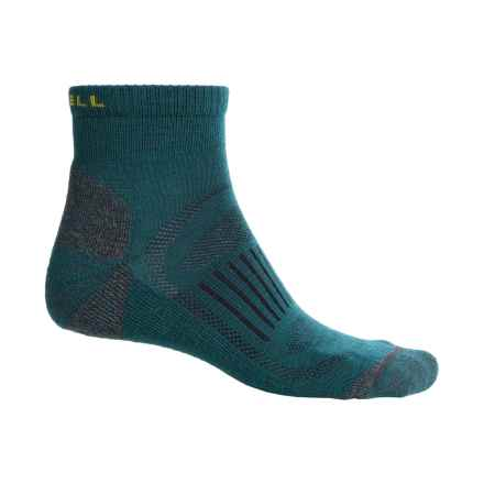 Merrell Courant Mini Hiking Socks - Merino Wool, Ankle (For Men) in Mallard - Closeouts