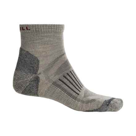 Merrell Courant Mini Hiking Socks - Merino Wool, Ankle (For Men) in Stone Solid - Closeouts
