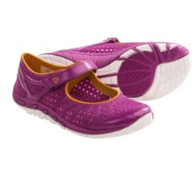 Merrell Crush Glove MJ Shoes - Minimalist (For Women) in Fuchsia - Closeouts