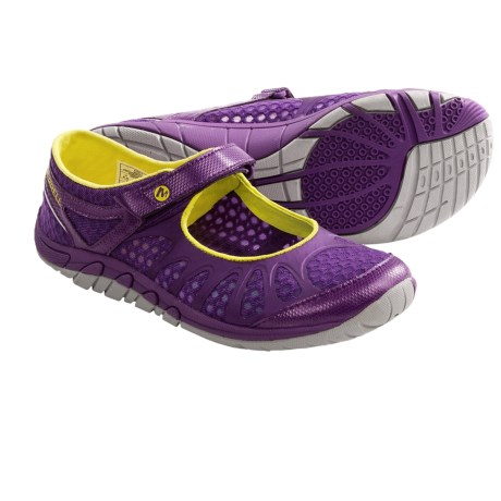 Merrell Crush Glove MJ Shoes - Minimalist (For Women) in Purple