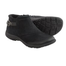 Merrell Dassie Ankle Boots - Leather (For Women) in Black - Closeouts