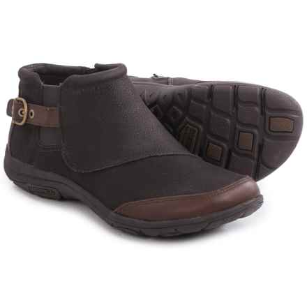Merrell Dassie Ankle Boots - Leather (For Women) in Java - Closeouts