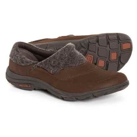 2ead3bcd384 Merrell Dassie Fold Moc Shoes - Nubuck, Slip-Ons (For Women) in