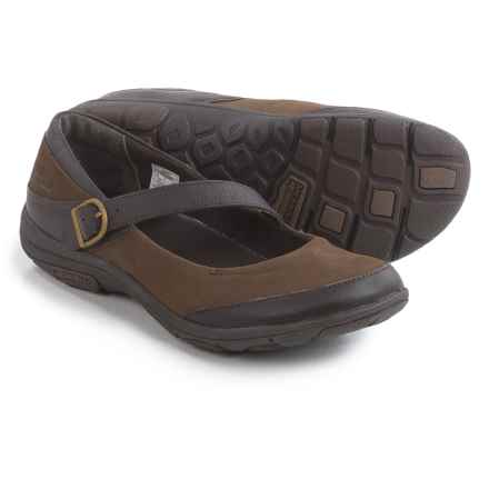 Merrell Dassie Mary Jane Shoes - Leather (For Women) in Char Brown - Closeouts
