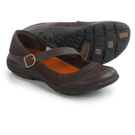 Merrell Dassie Mary Jane Shoes - Nubuck (For Women) in Espresso - Closeouts