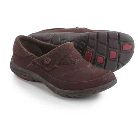 Merrell Dassie Shoes - Leather-Wool, Slip-Ons (For Women) in Andorra - Closeouts