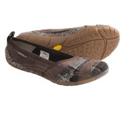 Merrell Delight Glove Wool Shoes - Wool-Nubuck-Textile (For Women) in Bracken