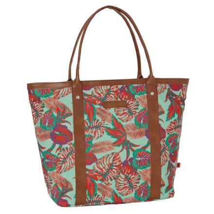 Merrell Delta Leisure Shopping Tote Bag (For Women) in Cockatoo Print - Closeouts