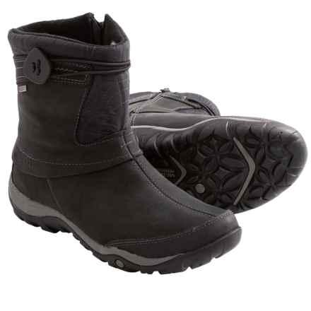 Merrell Dewbrook Zip Snow Boots - Waterproof, Insulated (For Women) in Black - Closeouts