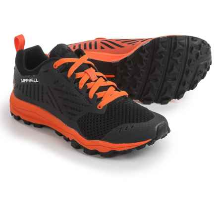 Merrell Dexterity Tough Mudder Trail Running Shoes (For Women) in Mudder Orange - Closeouts