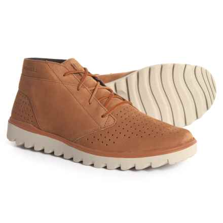 Merrell Downtown Chukka Boots - Nubuck (For Men) in Brown Sugar - Closeouts