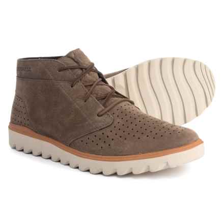 Merrell Downtown Chukka Boots - Nubuck (For Men) in Merrell Stone - Closeouts