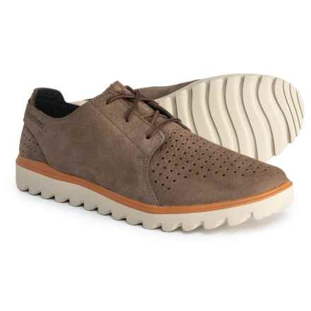 Merrell Downtown Lace Shoes - Slip-Ons (For Men) in Stone - Closeouts