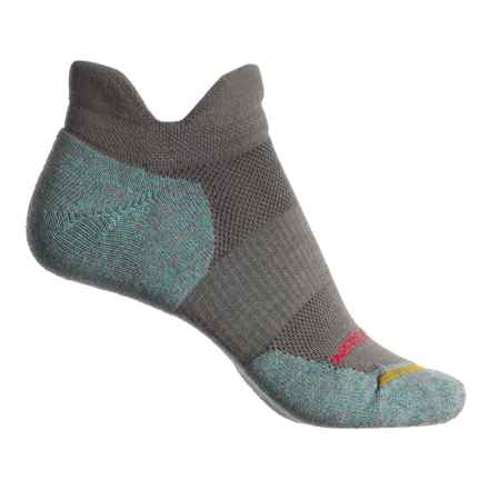Merrell Dual Tab Trail Runner Socks - Merino Wool, Below the Ankle (For Women) in Charcoal - Closeouts