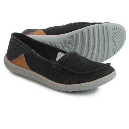 Merrell Duskair Moc Shoes - Slip-Ons (For Women) in Black - Closeouts