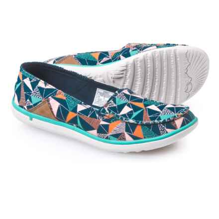 Merrell Duskair Print Moc Shoes - Slip-Ons (For Women) in Poseidon Print - Closeouts