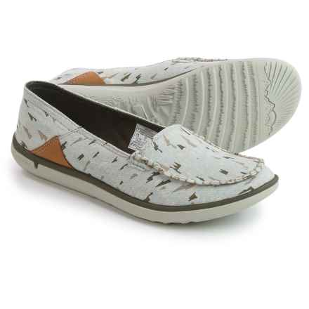 Merrell Duskair Print Moc Shoes - Slip-Ons (For Women) in Storm Grey - Closeouts