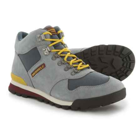 Merrell Eagle Boots - Suede (For Men) in Monument - Closeouts