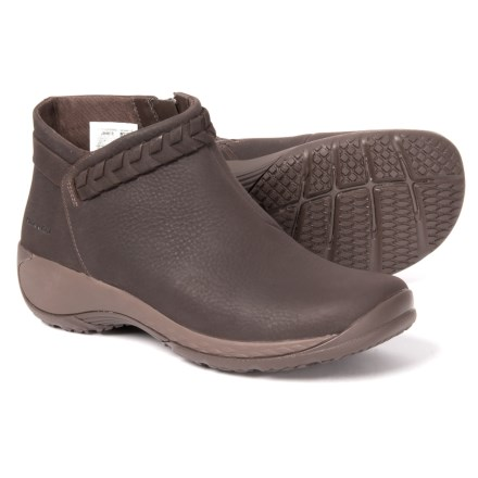 56f9eaedbdc20c Merrell Encore Braided Bluff Q2 Ankle Boots - Leather (For Women) in Bracken