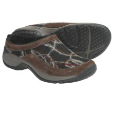 Merrell Encore Burst Clogs - Wool-Suede (For Women) in Bracken - Closeouts