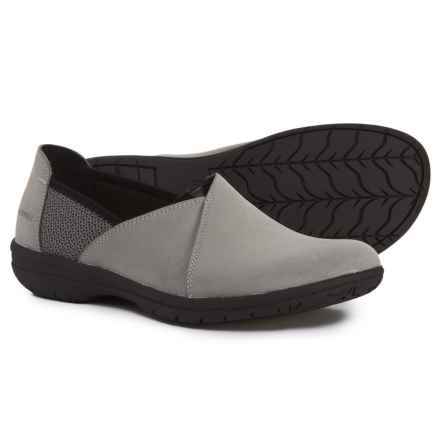 Merrell Encore Kassie Sport Moccasins - Slip-Ons (For Women) in Charcoal - Closeouts