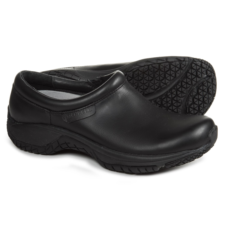 Merrell Black Leather Shoes Women