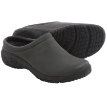Merrell Encore Nova 2 Clogs - Leather (For Women) in Dark Grey - Closeouts