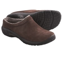Merrell Encore Nova Crystal Clogs - Suede (For Women) in Bracken - Closeouts