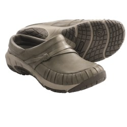 Merrell Encore Pleat Shoes - Leather, Slip-Ons (For Women) in Brindle