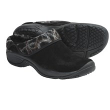 Merrell Encore Ripple Shoes - Suede (For Women) in Black - Closeouts