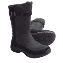 Merrell Encore Snow Boots - Nubuck, Suede (For Women) in Black - Closeouts