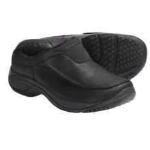 Merrell Encore Storm Slip-On Shoes - Leather (For Men) in Black - Closeouts