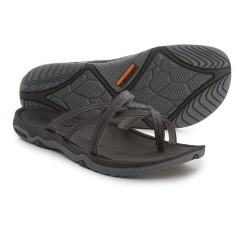 Merrell Enoki 2 Flip-Flops (For Women) in Black